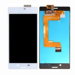 Xperia M4 - M4 LCD display Sony - Wit (High Quality AAA)