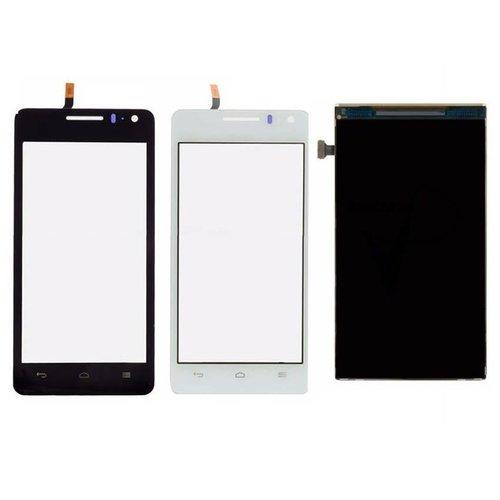 Andere merken Ascend G600 LCD display Huawei - Zwart (High Quality AAA)