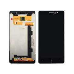 Nokia 830 - N830 LCD display Nokia - Zwart (High Quality AAA)