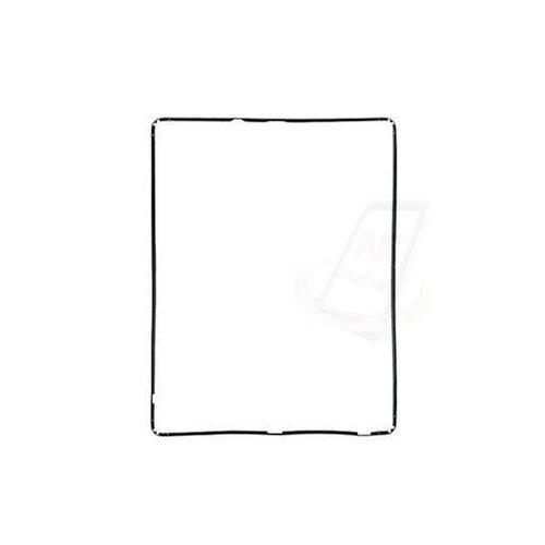 Andere merken Apple iPad 2 Kunststof Rand Rond Glas - Zwart
