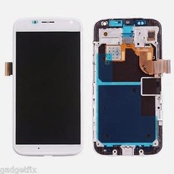 Moto X - X LCD display Motorola - Wit (High Quality AAA)
