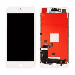 LCD Display Refurbished voor iPhone 8 - Wit (8719273148259)
