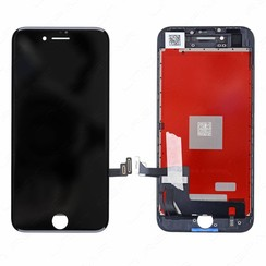 LCD Display Refurbished voor iPhone 8 - Zwart (8719273148242)