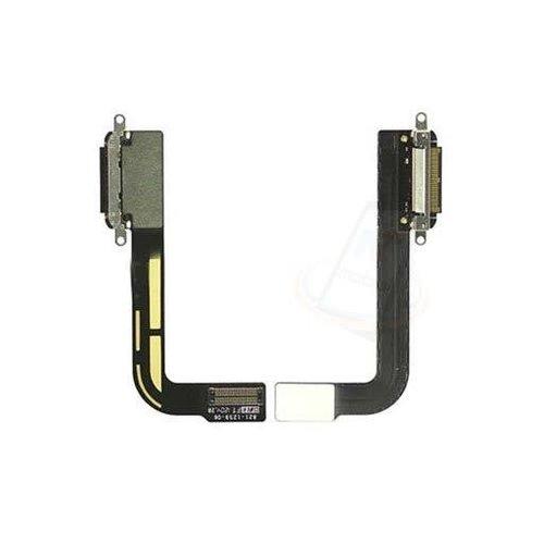 Andere merken Apple iPad 3 Data En OpLaadconnector Met Flex - Zwart