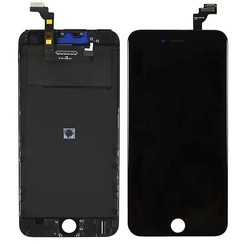 LCD display Refurbished voor iPhone 6 Plus - Zwart (8719273007822)