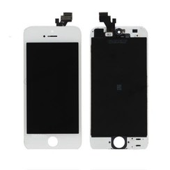 LCD display Refurbished voor iPhone 5S - Wit (8719273006917)