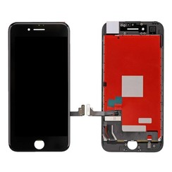 LCD display fur Apple iPhone 7 - AAA - Schwarz  (8719273132340)