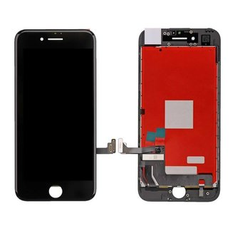 LCD display voor Apple iPhone 7 - AAA - Zwart (8719273132340)