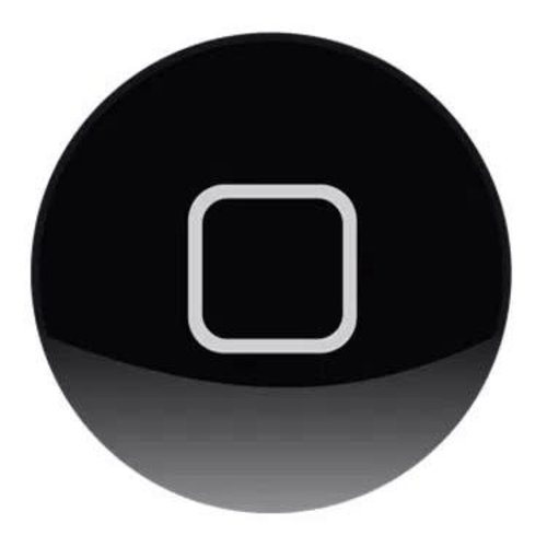 Andere merken Apple iPad 4 Home Button - Zwart