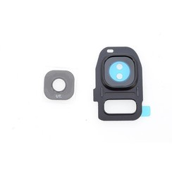 Cam Len voor Galaxy S7 Edge - Zwart (8719273257487)