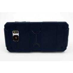 Silicone coque D Bleu - Samsung Galaxy S7 Edge (8719273228357)