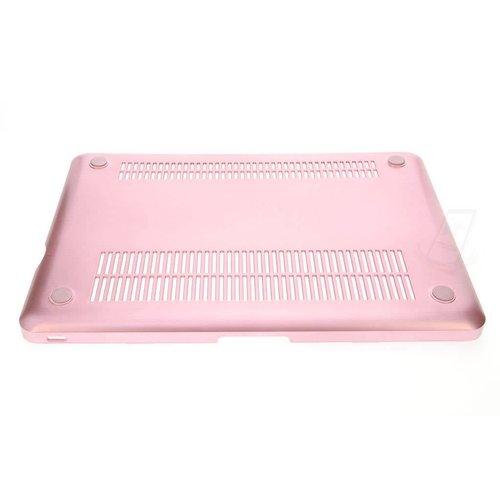 """Andere merken Apple Macbook 11.6 """"Air - Hardcase laptop - Rose Gold (8719273221006)"""