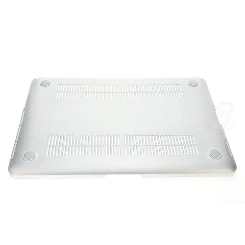 """Andere merken Apple Macbook 12"""" Retina - Hardcase laptop - Zilver (8719273221082)"""