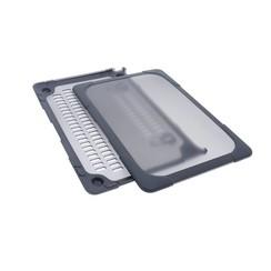 """Hardcase laptop voor Macbook 12"""" Retina - Grijs (8719273272572)"""