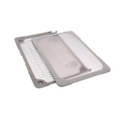"""Hardcase laptop voor Macbook 12"""" Retina - Bruin (8719273272589)"""