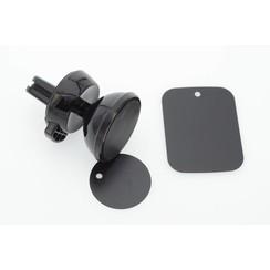 Flexibel Zwart Telefoonhouder auto voor Ventilatierooster - Veilig Bellen en Navigeren - Kunststof