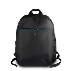 Maserati Slim Back Pack Tas - Zwart (3700740424520 )