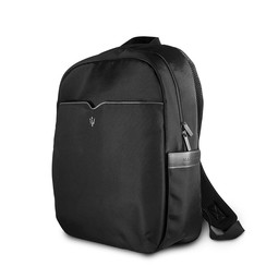Maserati Slim Back Pack Tas - Zwart (3700740424544 )