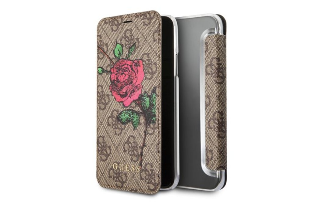 Guess Guess book case for Apple iPhone 6/7/8 - Brown (3700740406946)