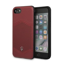 Maserati silicon coque pour iPhone 8 - Burgundy (3700740423769)