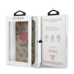 Guess Housse Flower Desire pour iPhone 8 Plus - Marron