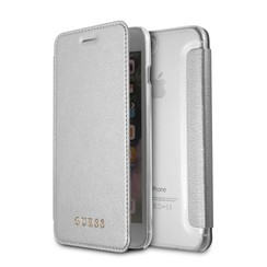 Guess book case for Apple iPhone 8 Plus - Silver (3700740417461)