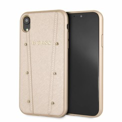 Guess hard case for iPhone XR - Gold (3700740436967)