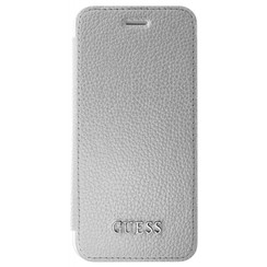 Guess book case Iridescent Collection for Apple iPhone 7/8 - Silver (3700740397787)
