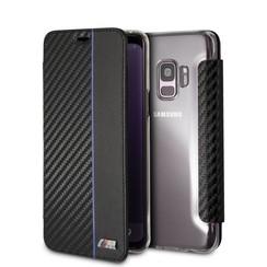 BMW Housse Carbon Stripe pour Galaxy S9 - Navy (3700740426500)