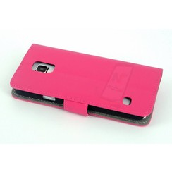 Samsung Galaxy S5 - G900F - Business Book case - Pink