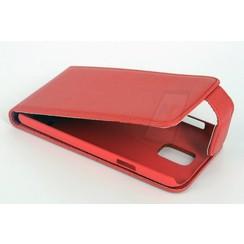 Book case voor Samsung Galaxy S5  - Rood
