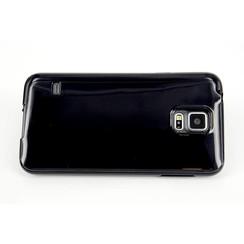 Backcover voor Samsung Galaxy S5  - Zwart