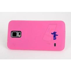 Samsung Galaxy S5 - G900F - Un1Q Flip coque - rose