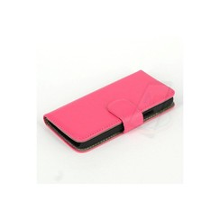 Samsung Galaxy s5 Mini - G800F - Business Book case - Pink