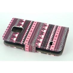 Samsung Galaxy s5 Mini - G800F - Rasta Print Book case - Rasta 4