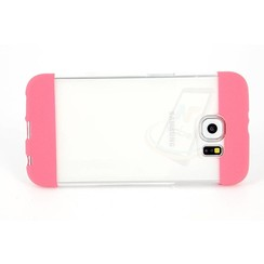 Samsung Galaxy S6 - G9200  - TPU Transparent Silicone case - Pink