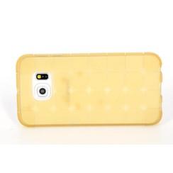 Samsung Galaxy S6 Edge - G925 - Creative Silicone coque - Or