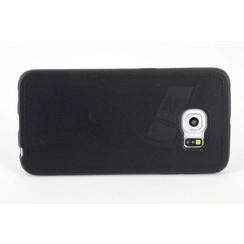Backcover voor Samsung Galaxy S6 Edge  - Zwart