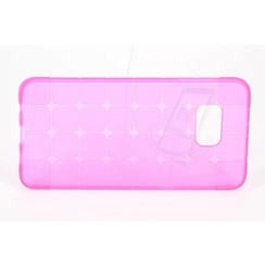 Samsung Galaxy S6 Edge PLUS - G928T - Creative Silicone case - Pink