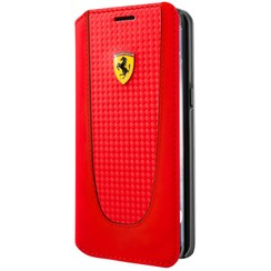 Ferrari book case PIT STOP for Samsung Galaxy S8 Plus - Red (3700740400050)