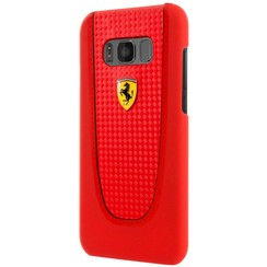 Ferrari Backcover voor Samsung Galaxy S8 Plus - Rood