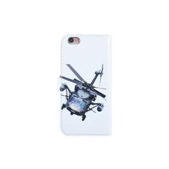 Apple iPhone 6/6S Pasjeshouder Print Booktype hoesje - Magneetsluiting - Kunststof;TPU