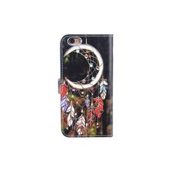 Apple iPhone 6/6S Titulaire de la carte Print Book type housse - Fermeture magnétique