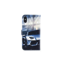 Apple iPhone X; iPhone Xs Card holder Print Book type case for iPhone X; iPhone Xs Magnetic closure