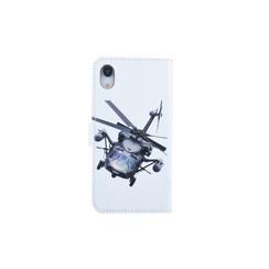 Apple iPhone XR Titulaire de la carte Print Book type housse - Fermeture magnétique
