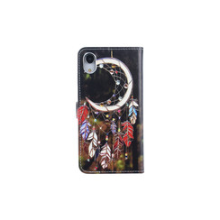 Apple iPhone XR Card holder Print Book type case for iPhone XR Magnetic closure