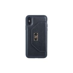 Backcover voor iPhone X-Xs - Zwart