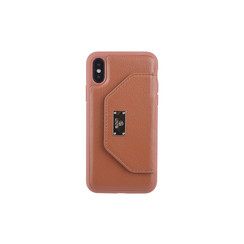 Back cover for iPhone X-Xs - Brown