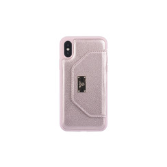 Coque pour iPhone X-Xs - Rose Or