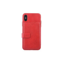 Coque pour iPhone X-Xs - Rouge